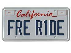 The California Politburo rides free.