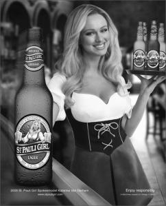 St. Pauli Girl Van Derham