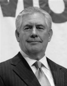 Exxon CEO Tillerson