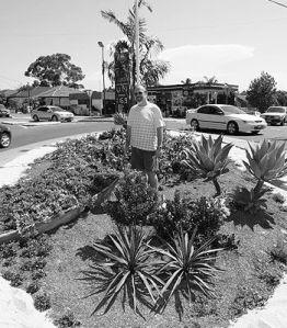 Busted gardener
