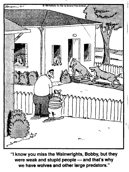 Far Side: Evolutionary Theory in the 'Burbs