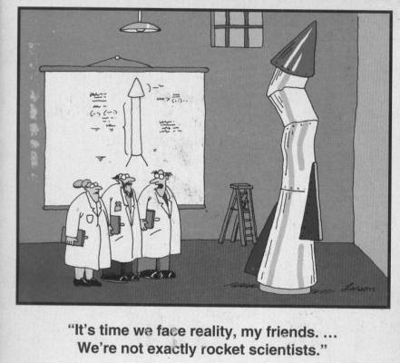 Far Side: Rocket Scientists