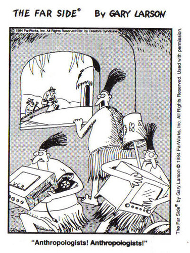 Far Side: Anthropologists & Natives
