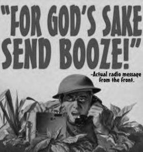 Send booze!