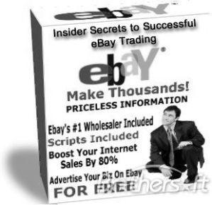 Make big money on eBay selling priceless information!