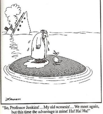 Far Side: Ducks revenge