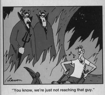 Far Side: in-hell-and-loving-it