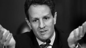 Geithner: No worries! Trust me ... er ... who's laughing? Everyone?