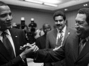 Comrades Obama and Chavez