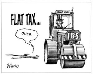 IRS version of Flat Tax
